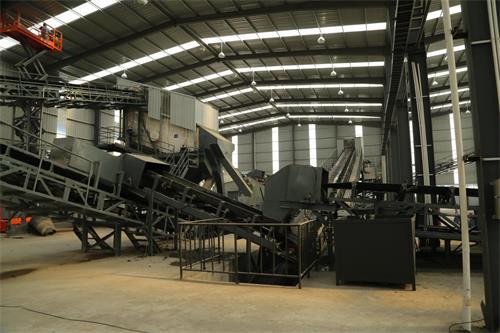 上海年处理100万吨建筑垃圾破碎生产线